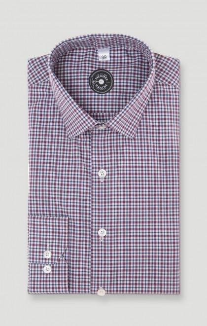 Chemise à carreaux en flanelle