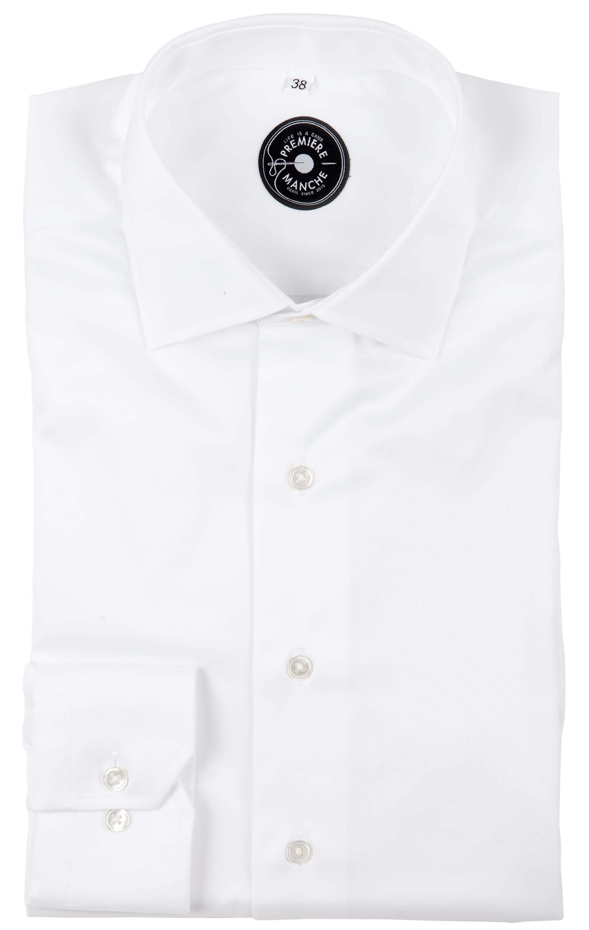Chemise blanche non iron
