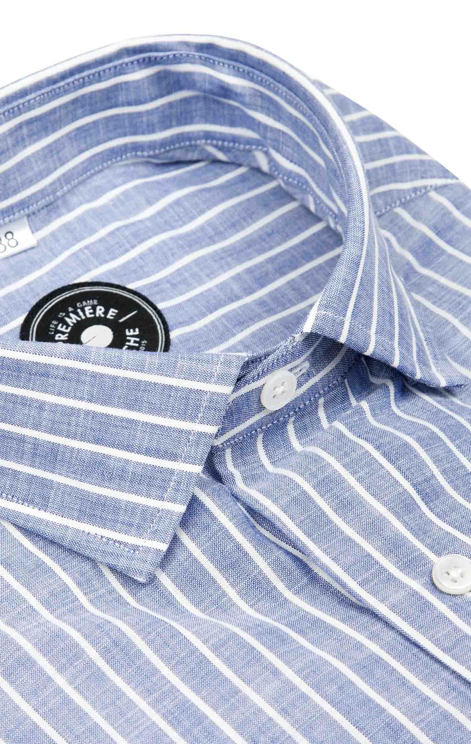 Chemise chambray rayée Les chemises