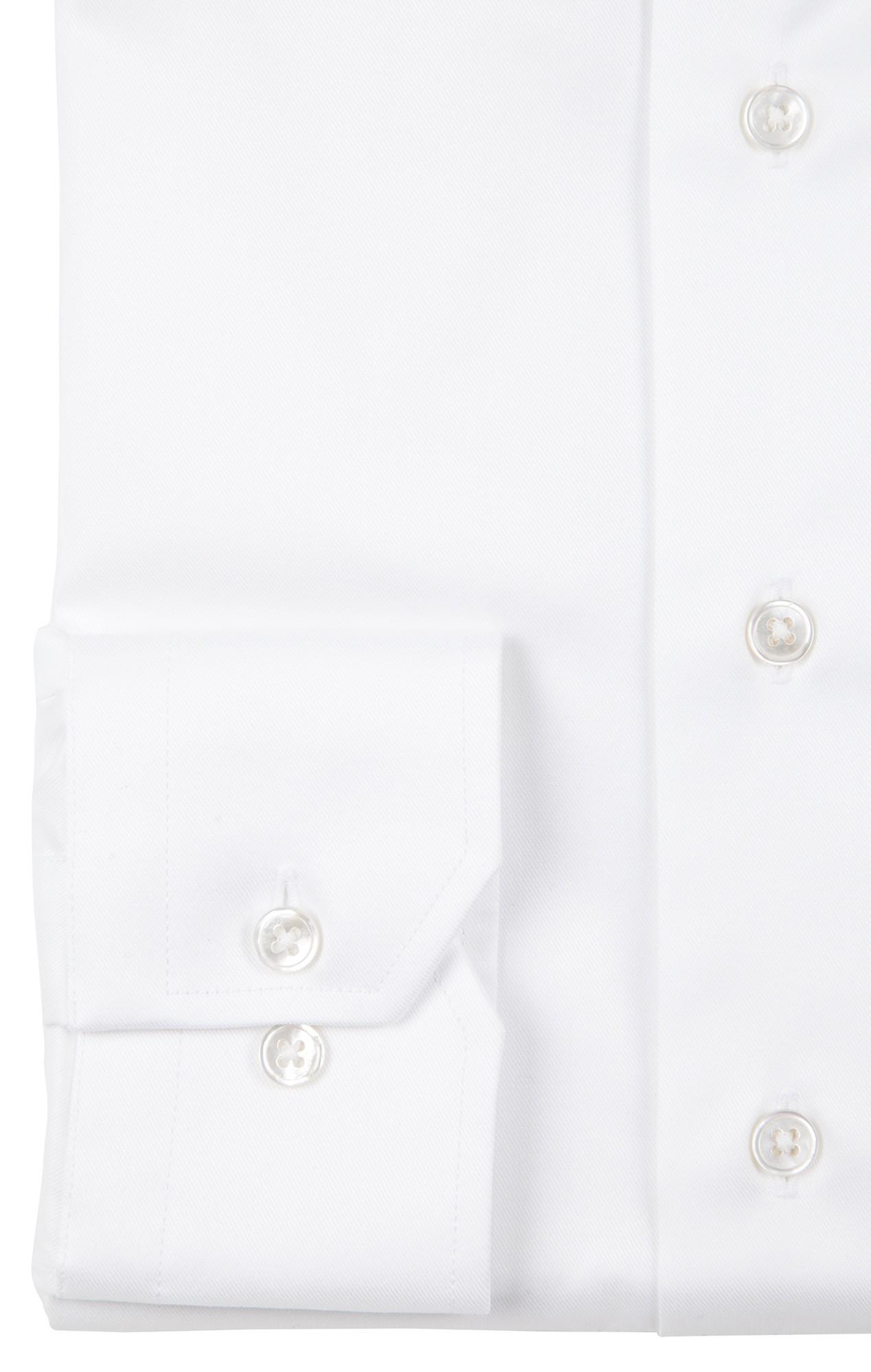 Chemise blanche twill Chemises Hommes