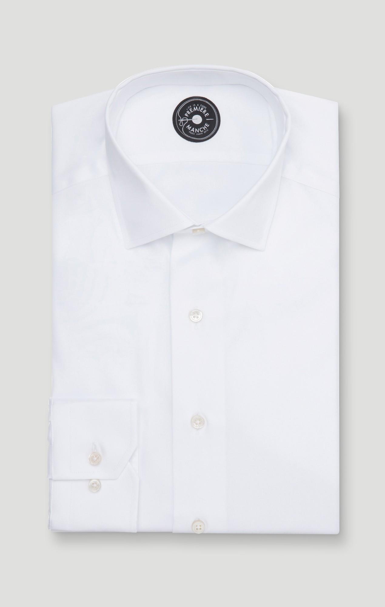 White dobby shirt