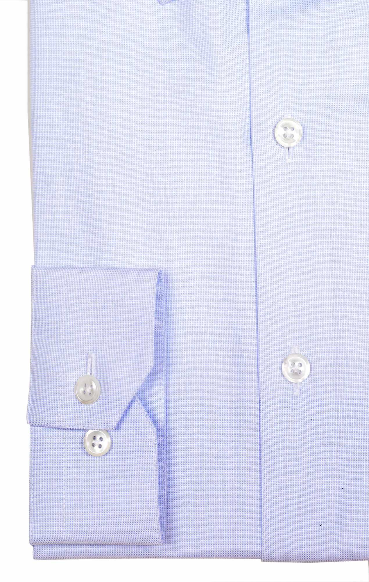 Exceptionnal blue poplin shirt