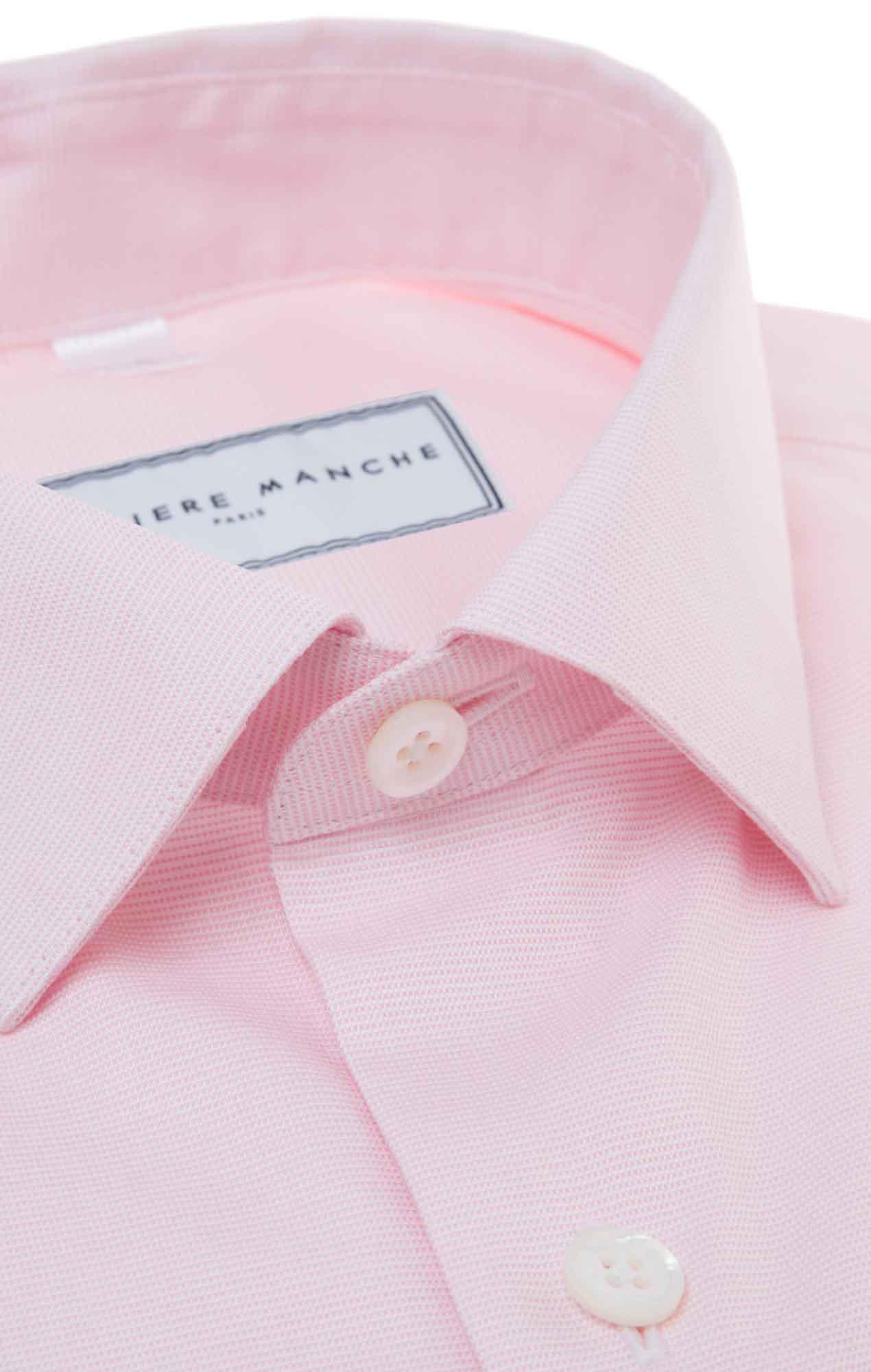 Pink dobby shirt