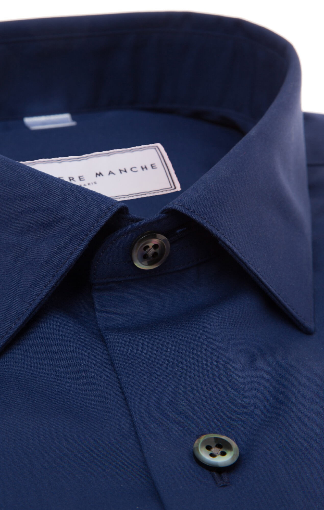 Dark blue plain shirt