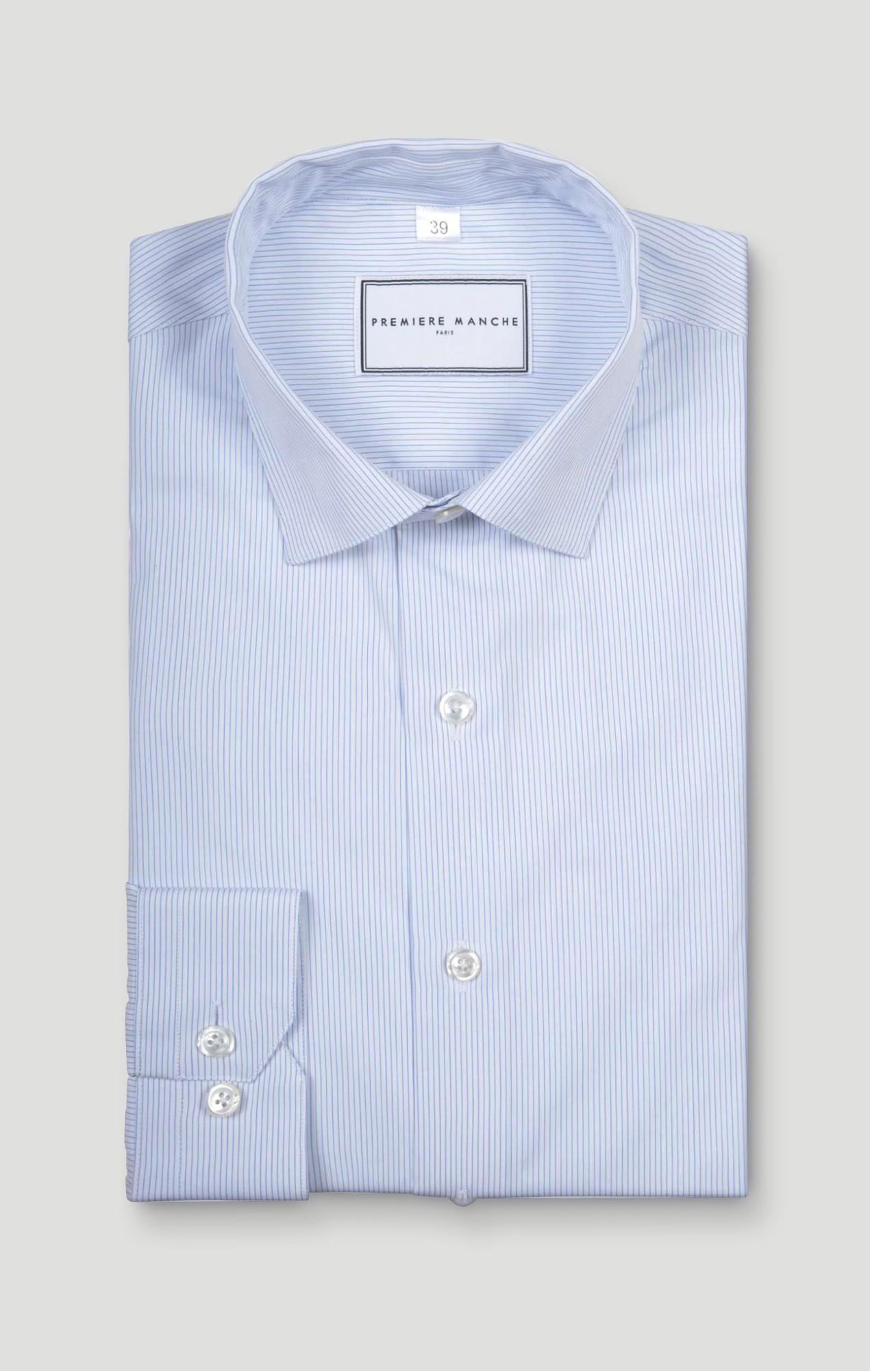 Chemise popeline raies fines Chemises Hommes