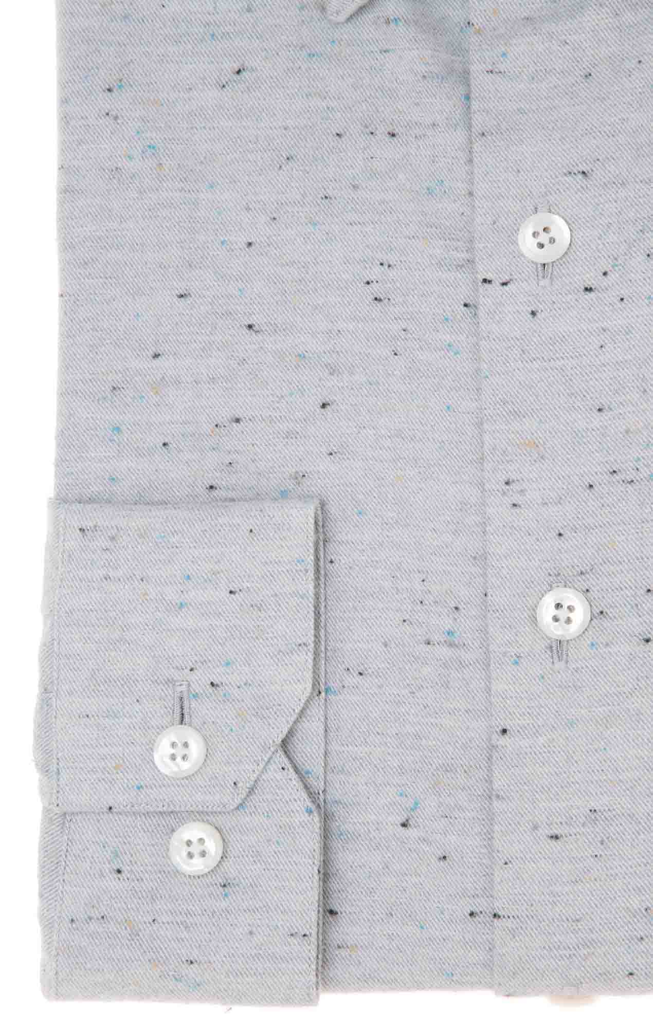 Chemise grise à puces Chemises pois