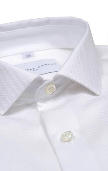Chemise blanche poignets mousquetaires