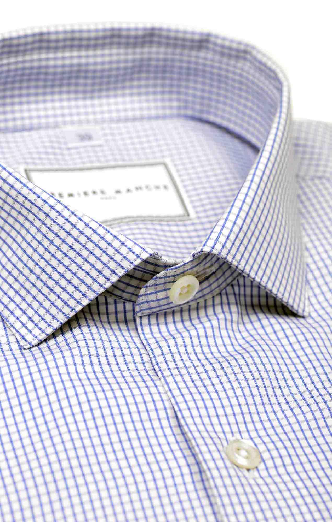 Chemise à carreaux bleu foncé Les chemises
