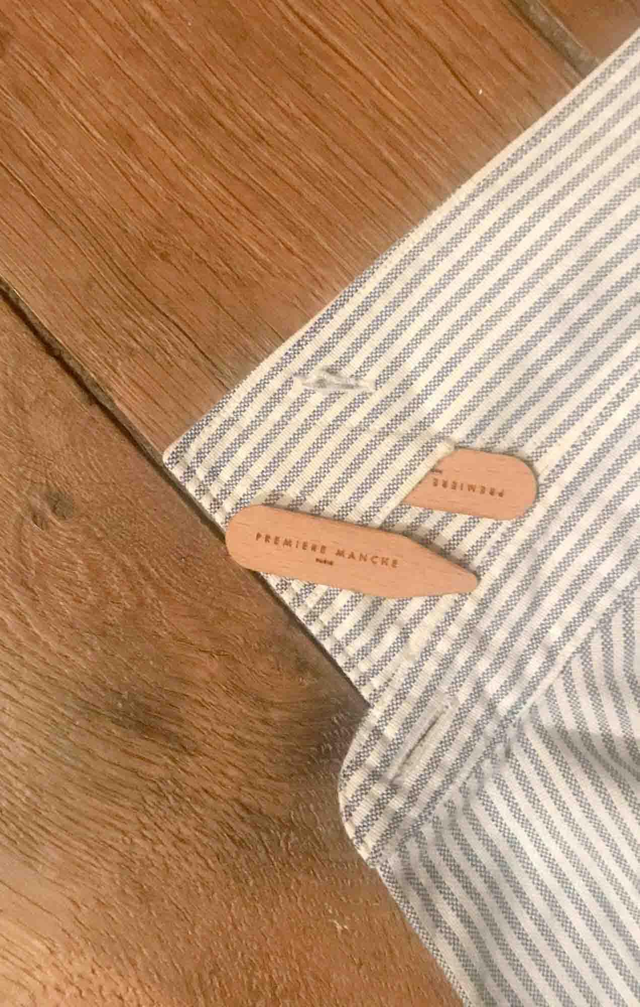 Wooden collarstays x 12