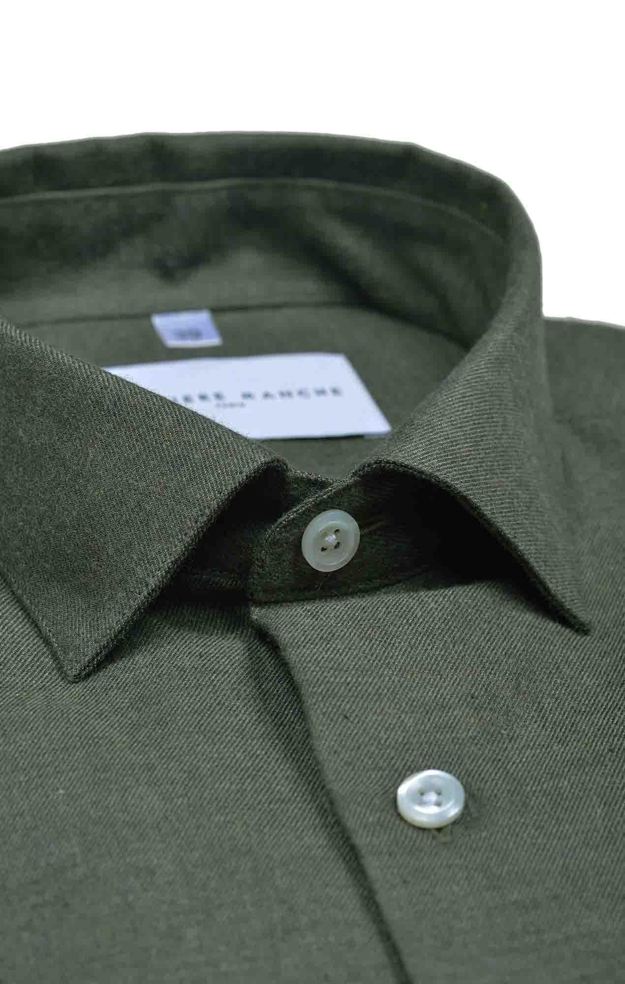 Dark blue flannel shirt