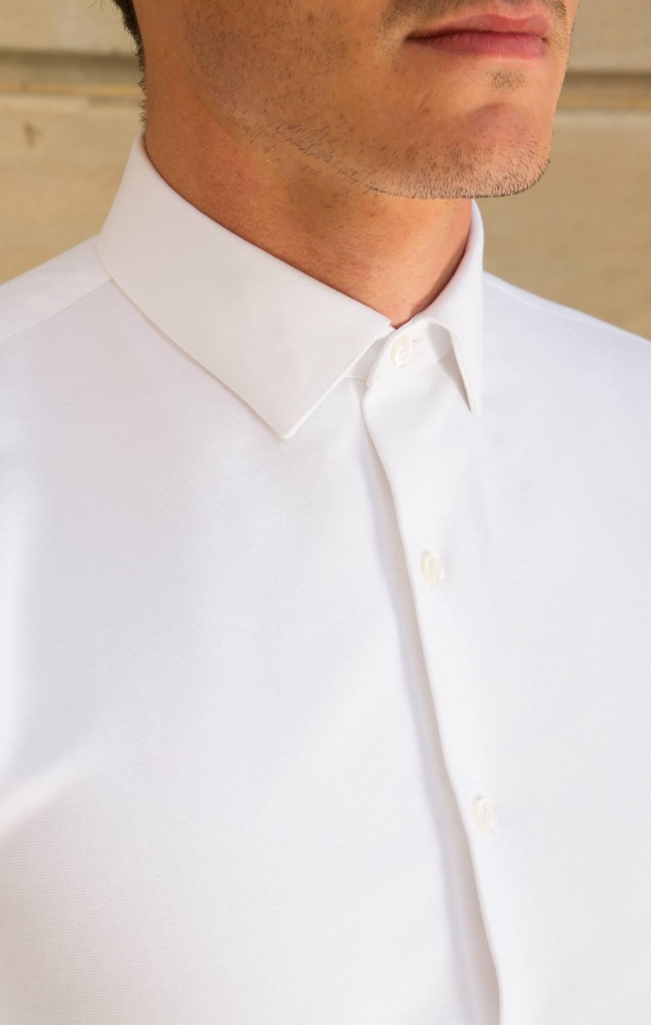 Chemise blanche Oxford épais Les chemises