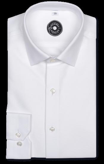 Chemise blanche Oxford épais