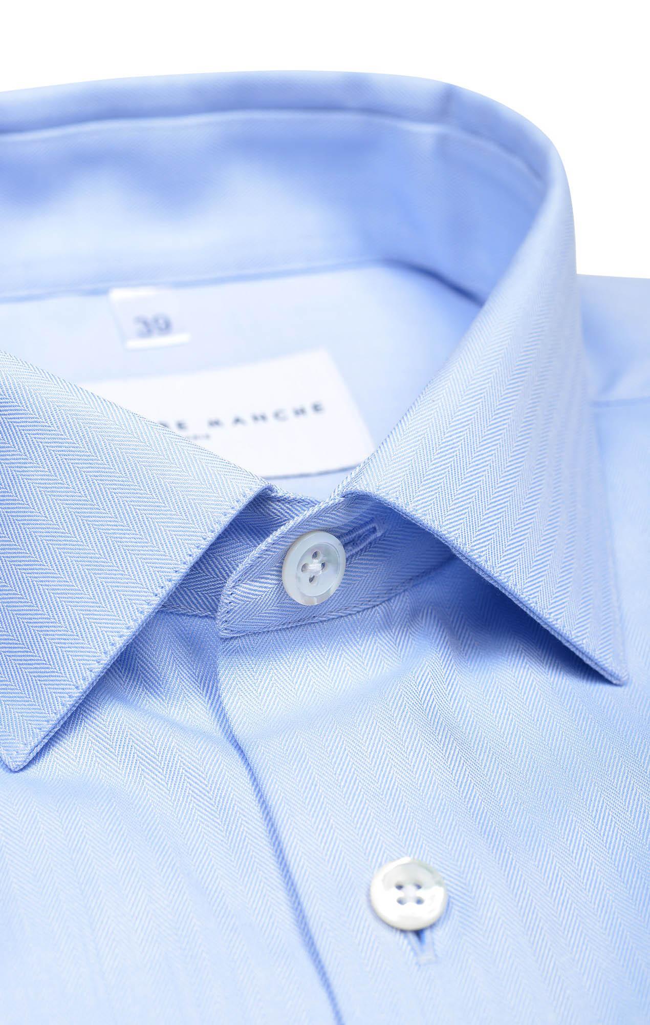 Chemise bleue à chevrons Chemises Hommes